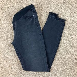 FRAME Full Panel Black Skinny Maternity Jeans NWT
